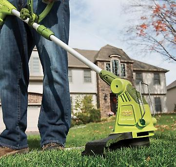 Electric Trimmer/Edger with Cord    -inch  Green