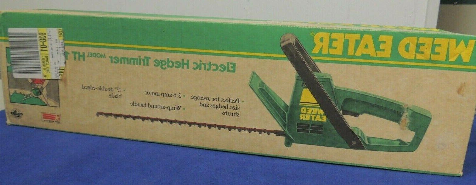 electric hedge trimmer model 17 new