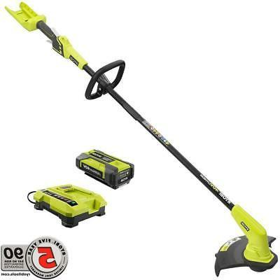 Electric Weed Cordless String Edger Battery Ryobi