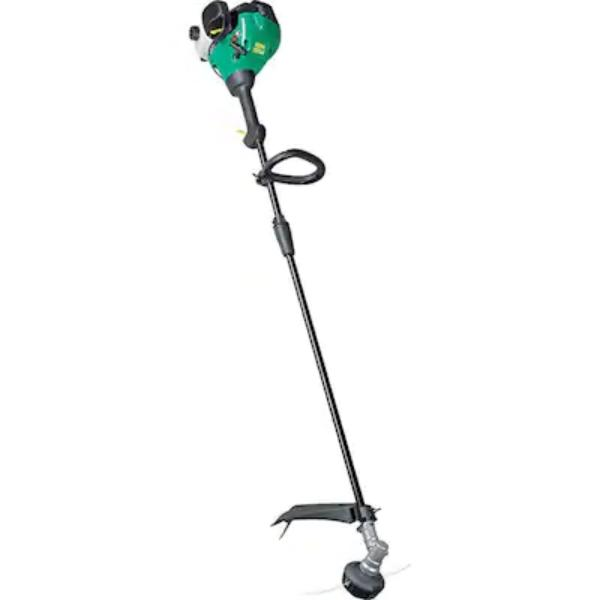 featherlite straight shaft gas trimmer with tap
