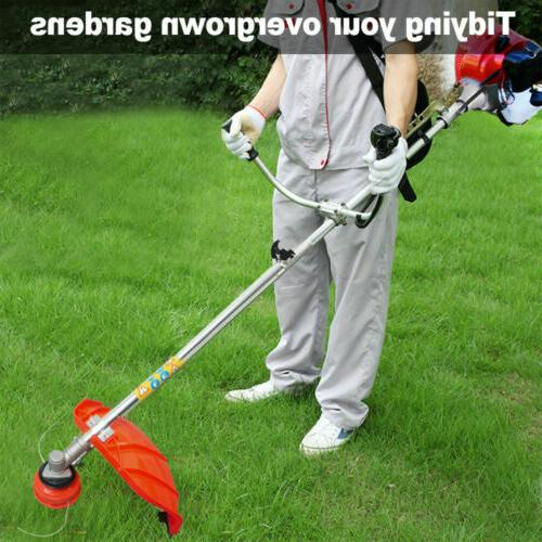 Gas Brush Trimmer Weed Grass Shoulder