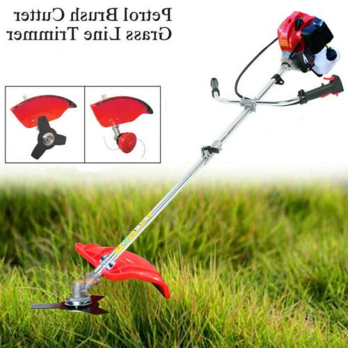 gas brush cutter trimmer weed string powered