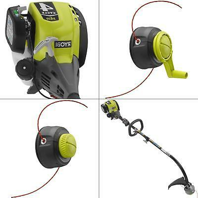 GAS STRING TRIMMER 4 Cycle Attachment Capable Curved Shaft W
