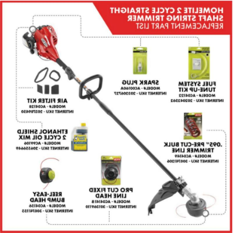 GAS TRIMMER 2-Cycle Straight Shaft Equipment