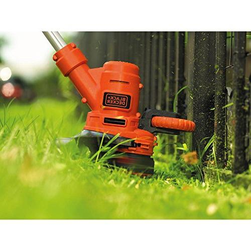 BLACK+DECKER GH900 String Trimmer/Edger, 14-Inch