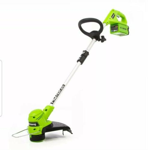 Grass Trimmer 12 String Cordless Eater Charger
