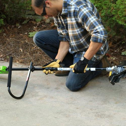 """GreenWorks 2100202 14"""" and Charger Attachment"""