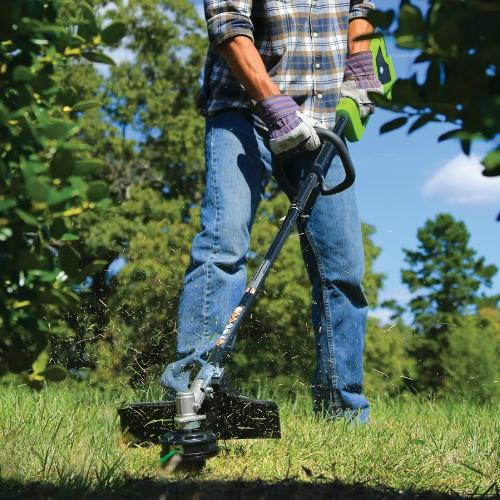 "GreenWorks 14"" Trimmer, and Charger Sold Attachment Capable"