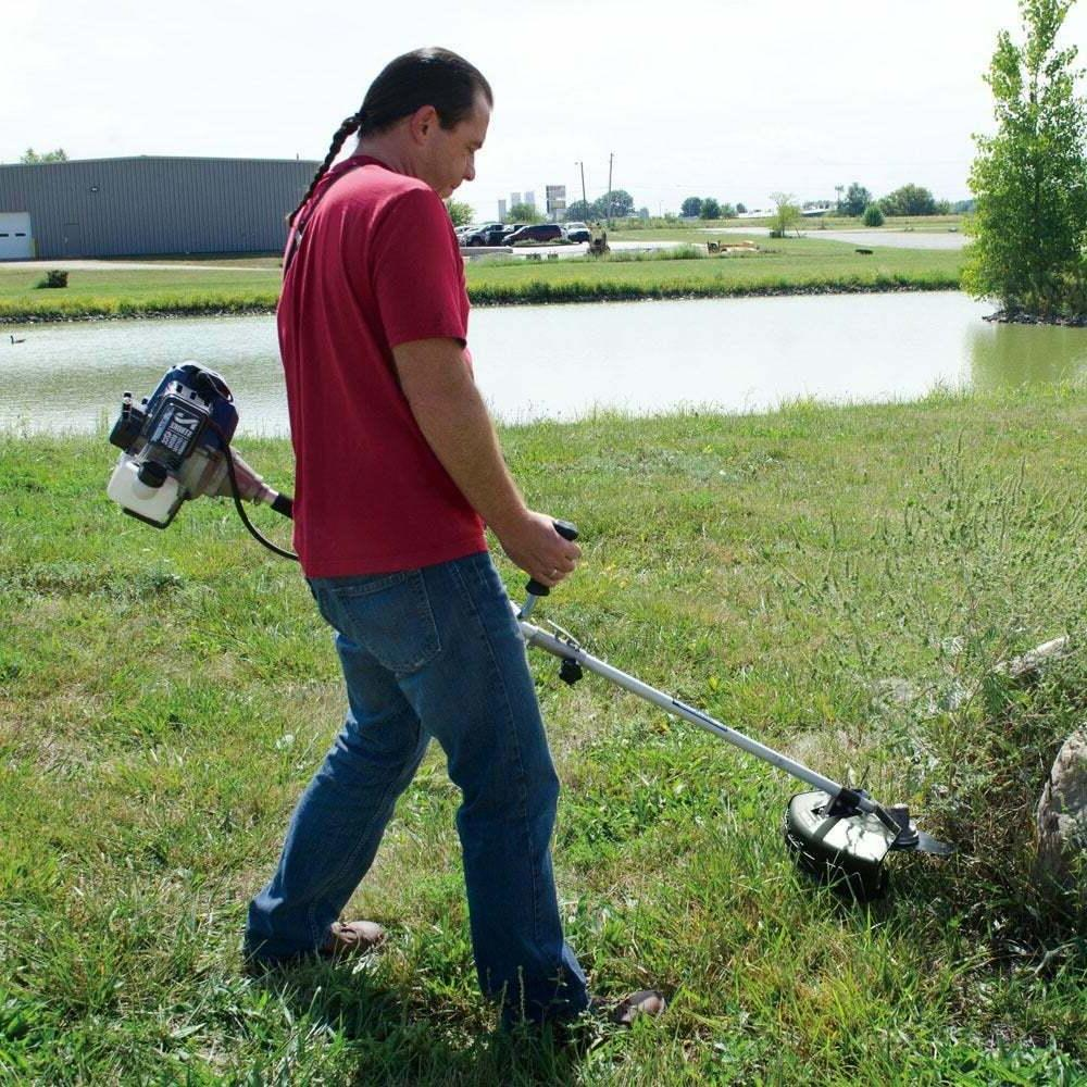 Heavy Duty Brush Gas String Trimmer Yard Weed Whacker Eater