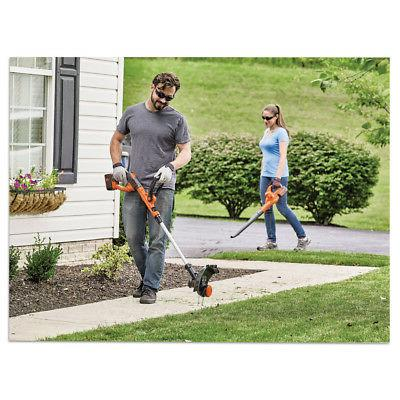 Black Decker 40V Trimmer Sweeper Kit