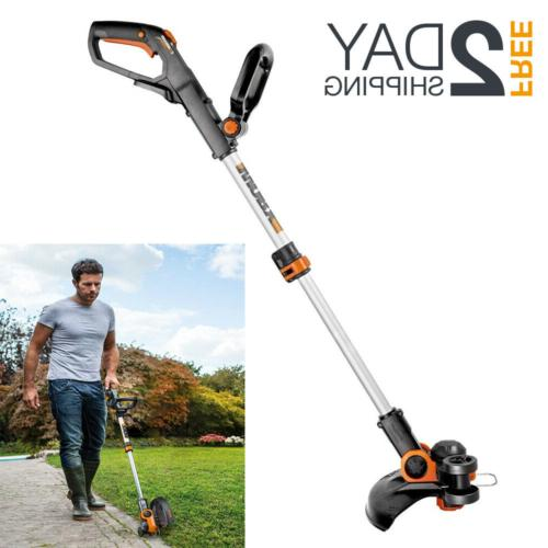 lithium battery powered string grass trimmer edger