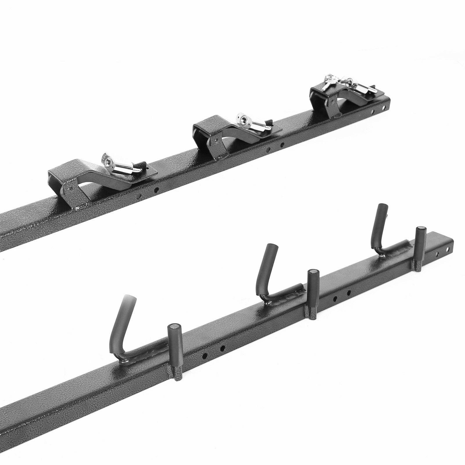 Lockable 3-Place weed-eater Trimmer Rack Holder for