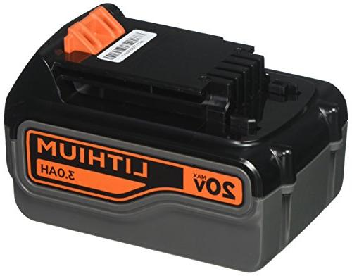 max lithium battery hour