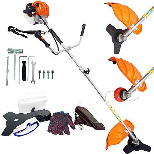 ECO-WORTHY in String Trimmer Multi Straight Grass Cutter/Gasoline Trimmer