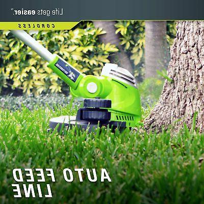 NEW STRING Weed Eater Grass Yard Cordless