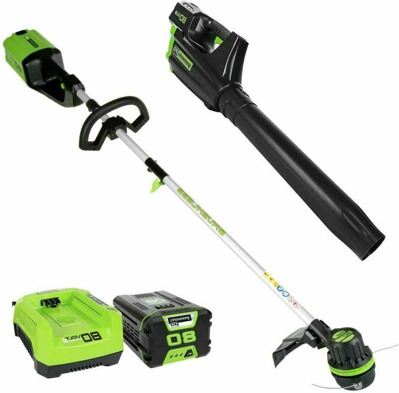 stba80l210 cordless string trimmer blower