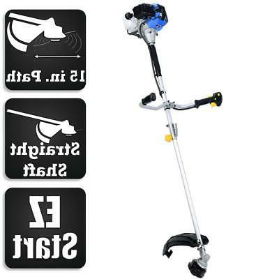 straight shaft trimmer gas weed eater commercial