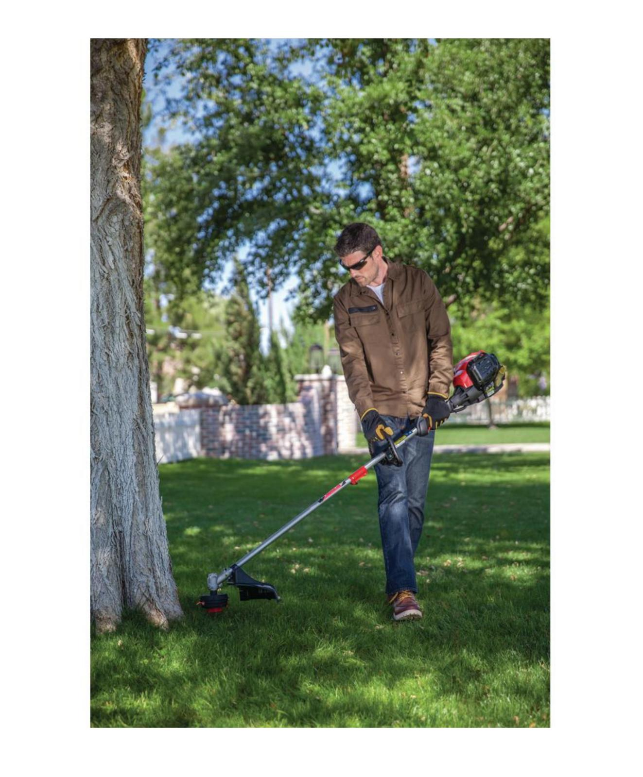 Straight Trimmer Gas Weed Eater Professional CC Wacker