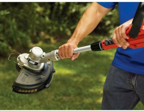 BLACK+DECKER Grass Edger 20-Volt, Battery Lithium