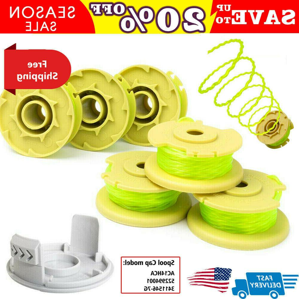 string trimmer spools line replacement for ryobi