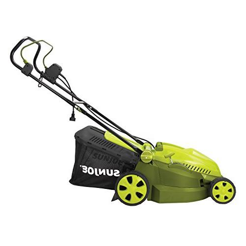 sun mj402e mow electric lawn