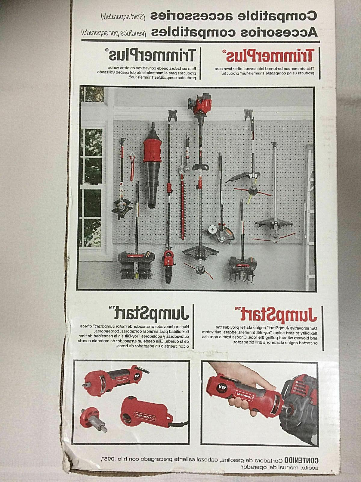 Troy-Bilt Grass Lawn 25cc 2-cycle Gas Straight NEW
