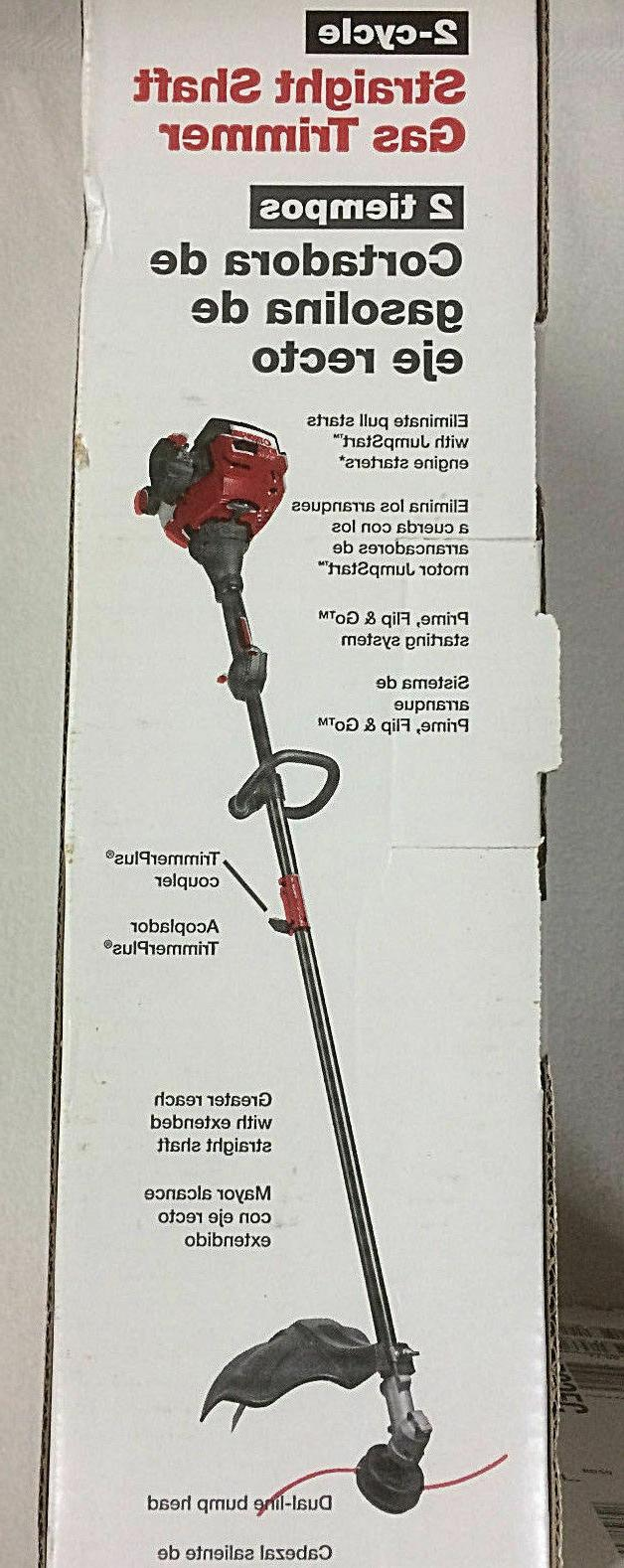 troy bilt gas grass weed lawn trimmer
