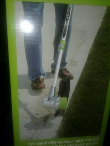 Weed Eater Cordless Trimmer Edger; with