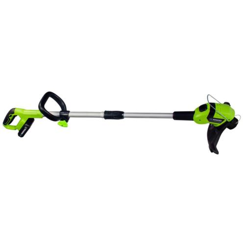 Weed Cordless Trimmer Wacker Battery Powered with Charger