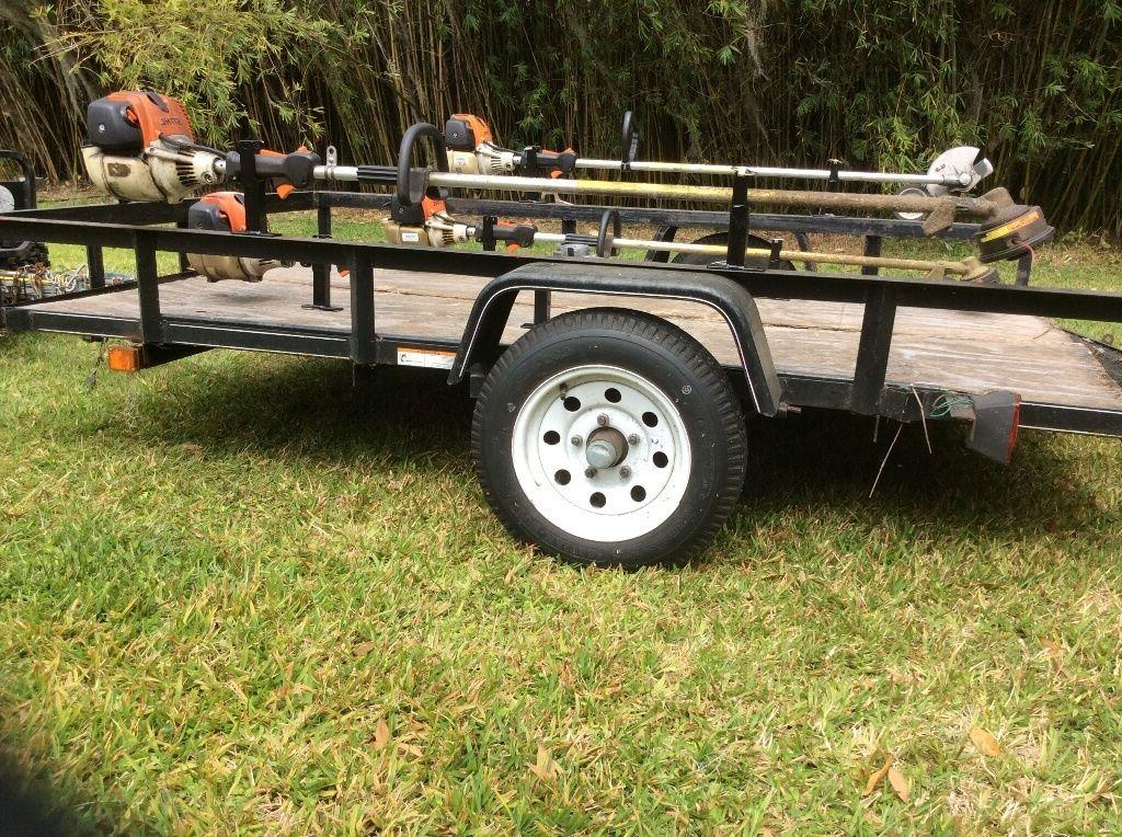Weed Eater or Tier Weedeater Trailer Holder