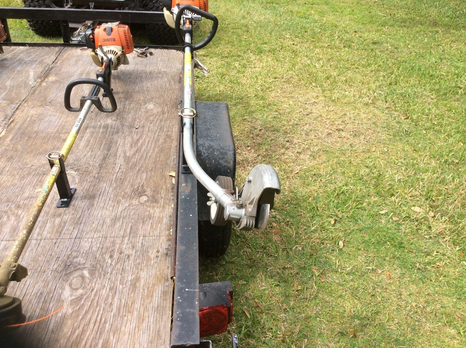 Weed Eater , Trimmer trailer LOCKABLE Weedeater Single