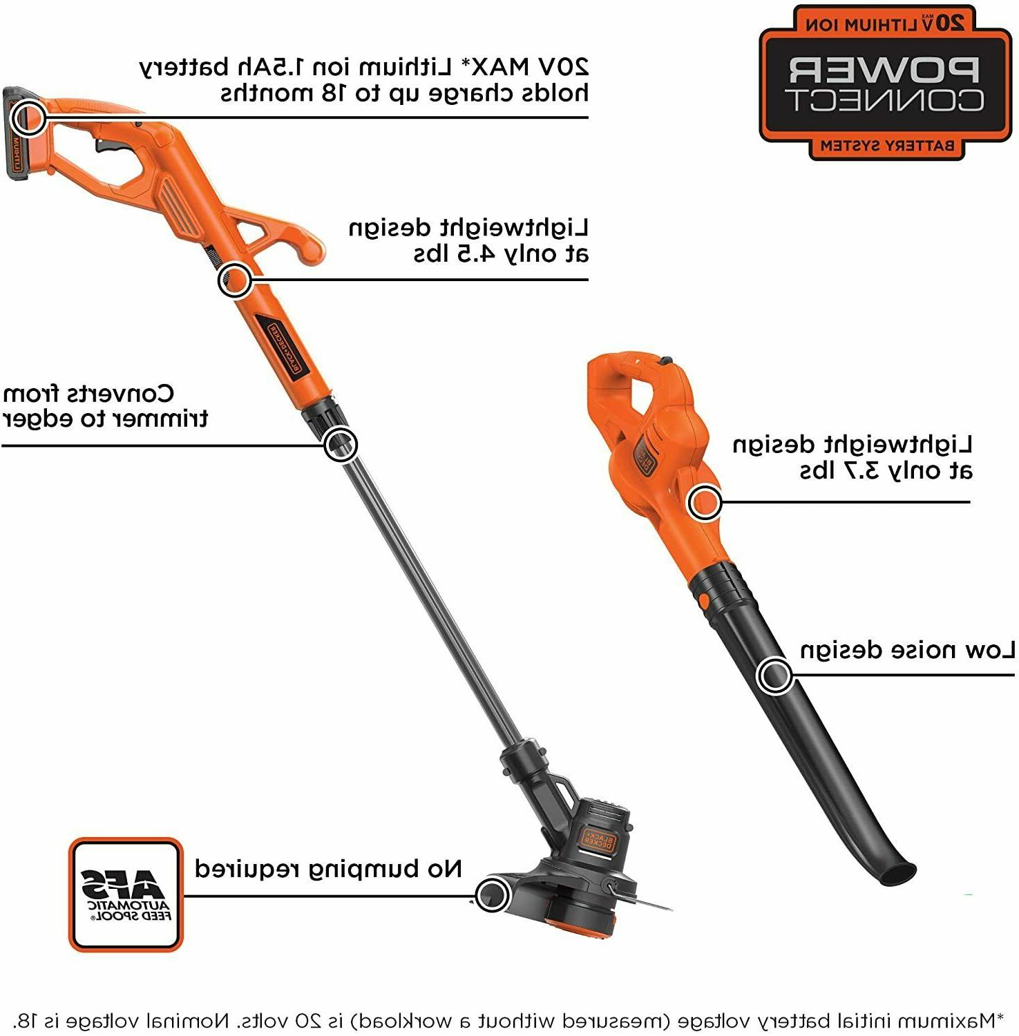 Weed Blower String Trimmer Lithium Home