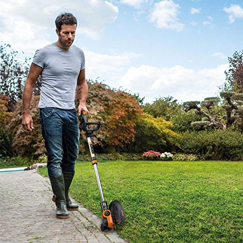 Worx Wg180 40 GT3.0 Trimmer Grass Trimer, and Black