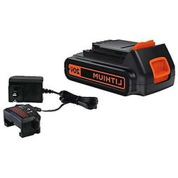 BLACK+DECKER 20V MAX Lithium Battery & Charger