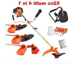 CHIKURA Multi powerful 52cc gasoline brush cutter 4 in 1 gra