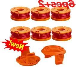 NEW 6 PCs String Weed Wacker Trimmer Line Spool for WORX WWG