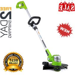 NEW STRING TRIMMER Weed Eater Lawn Wacker Edger Grass Yard 2