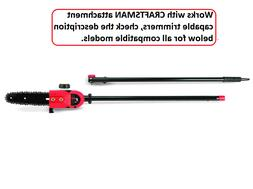 Polesaw Attachment For 26.5cc/25CC/30cc 4 & 2 cycle 17 & 18