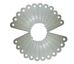 4 Inch Poly Cut Trimmer Blades Replaces Stihl Husqvarna  Pac