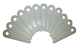 4 Inch Poly Cut Trimmer Blades Replaces Stihl Husqvarna 12 P