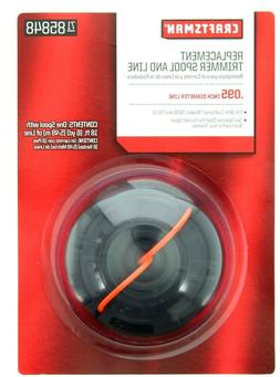 Craftsman Replacement Trimmer Spool And Line, .095 Inch Diam