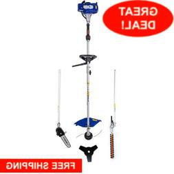 Straight Shaft Gas Weed Eater Hedge Trimmer Saw Commercial B