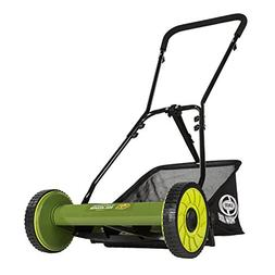 Sun Joe Mow Joe 16-IN Manual Reel Mower with Catcher - MJ500