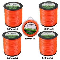 Trimmer Line Weed Spool Replacement 1/5lb Square Commercial
