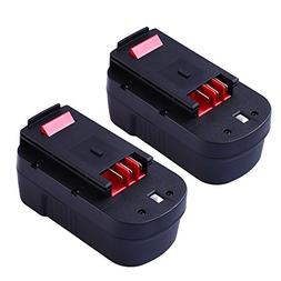 Upgraded 3600mAh for Black and Decker 18v Replacement Batter