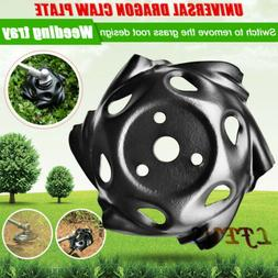 Weed Trimmer Break-proof Rounded Edge Head for Power Lawn Mo