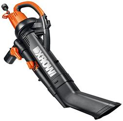 Worx WG505 12 Amp Single Speed TriVac Handheld Electric Blow