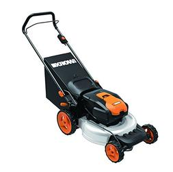 Worx WG770 36V Cordless Ni-MH 19 in. 2-in-1 Mower with Singl